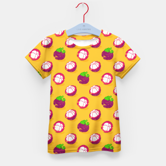 Thumbnail image of Mangosteen Kid's T-shirt, Live Heroes