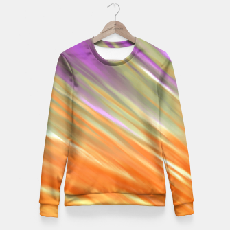 Tangerine Aurora Fitted Waist Sweater thumbnail image