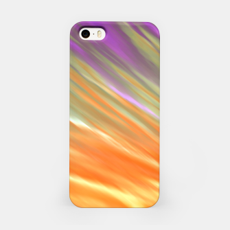 Tangerine Aurora iPhone Case thumbnail image