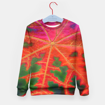 Thumbnail image of Leaf Incredible Kid's Sweater, Live Heroes