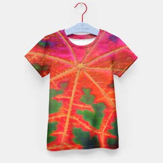Thumbnail image of Leaf Incredible Kid's T-shirt, Live Heroes