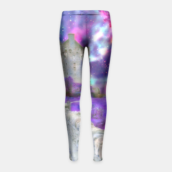 Miniaturka Space Castle Girl's Leggings, Live Heroes