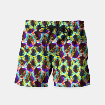 Thumbnail image of Etnic print by Veronique de Jong Swim Shorts, Live Heroes