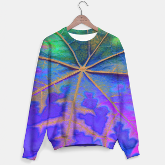 Leaf Incredible, Turquoise Sweater thumbnail image