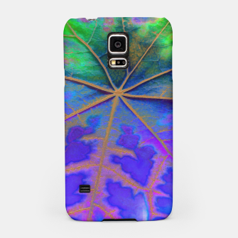 Leaf Incredible, Turquoise Samsung Case thumbnail image