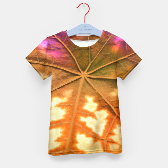 Thumbnail image of Leaf Incredible, Amber Kid's T-shirt, Live Heroes