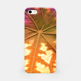 Leaf Incredible, Amber iPhone Case thumbnail image