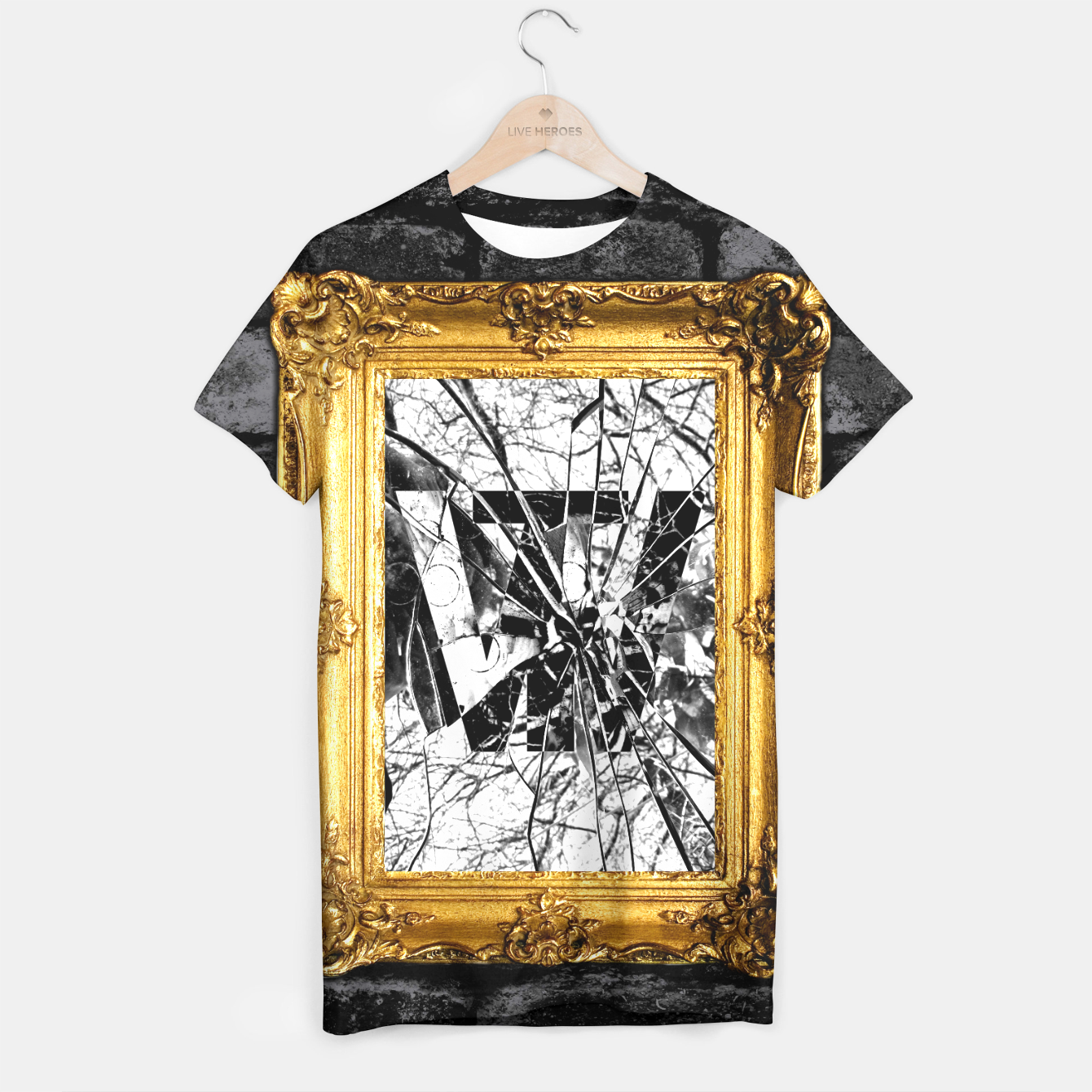 Image of Mirror T-Shirt - Live Heroes