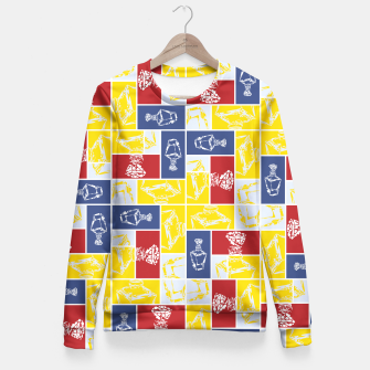 Thumbnail image of Love Potion No9 Fitted Waist Sweater, Live Heroes