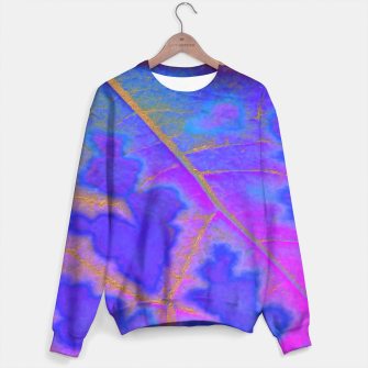 Thumbnail image of Leaf Incredible, Turquoise 2 Sweater, Live Heroes