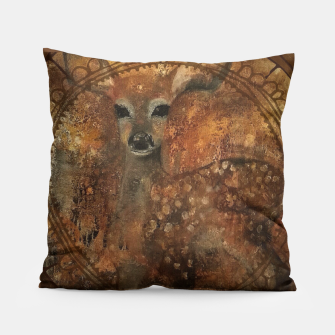 Miniatur Beatiful deer Pillow, Live Heroes