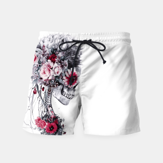 Skeleton Bride Swim Shorts thumbnail image