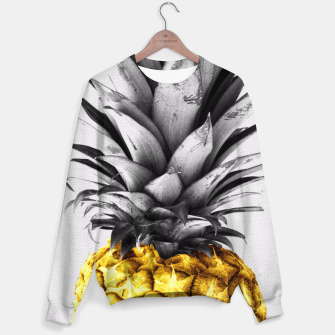 Thumbnail image of Golden pineapple Sweater, Live Heroes