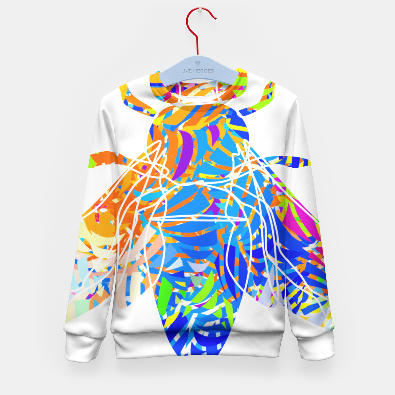 Image of bs2 Kid's Sweater - Live Heroes