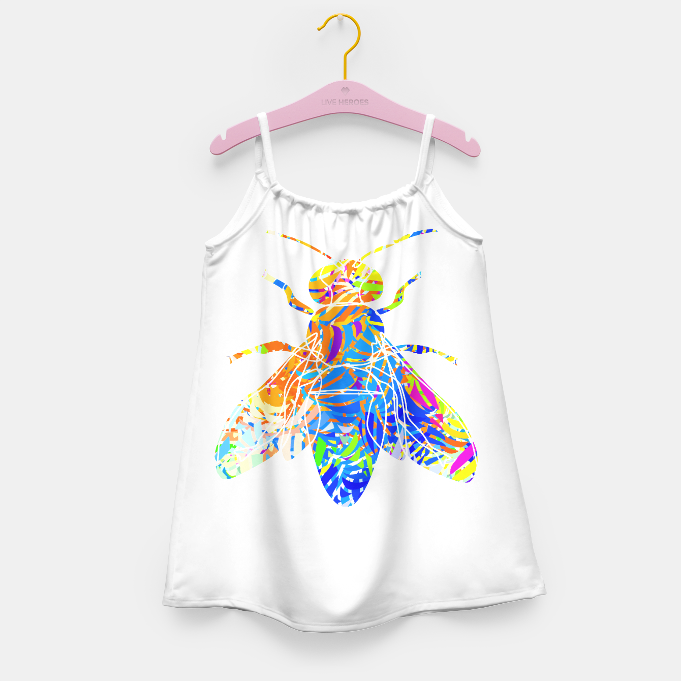 Image of bs2 Girl's Dress - Live Heroes