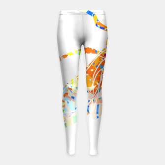 Thumbnail image of bs2 Girl's Leggings, Live Heroes