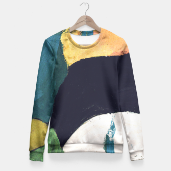Miniaturka Abstract  Fitted Waist Sweater, Live Heroes