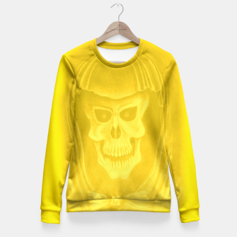 Thumbnail image of Yellow  Fitted Waist Sweater, Live Heroes