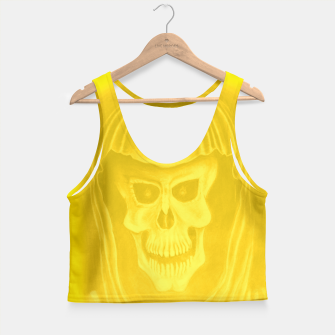 Thumbnail image of Yellow  Crop Top, Live Heroes
