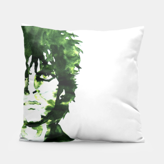 Thumbnail image of BJA green day watercolor l special Pillow, Live Heroes