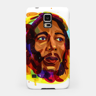 Thumbnail image of Psychedelic Bob Marley Samsung Case, Live Heroes