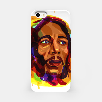 Thumbnail image of Psychedelic Bob Marley iPhone Case, Live Heroes