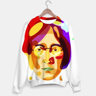 Thumbnail image of Psychedelic John Lennon Sweater, Live Heroes