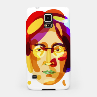 Thumbnail image of Psychedelic John Lennon Samsung Case, Live Heroes