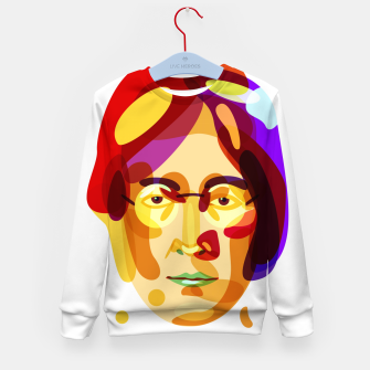 Thumbnail image of Psychedelic John Lennon Kid's Sweater, Live Heroes