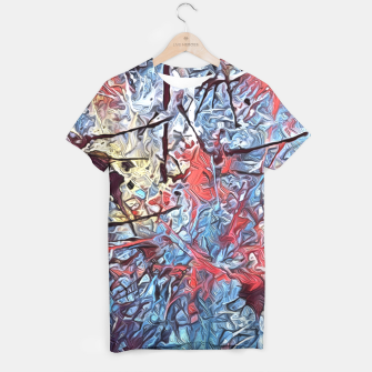 Miniaturka Colorful Abstract Painting  T-shirt, Live Heroes