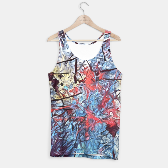 Miniaturka Colorful Abstract Painting  Tank Top, Live Heroes