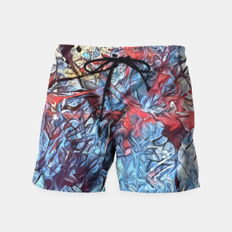 Miniaturka Colorful Abstract Painting  Swim Shorts, Live Heroes