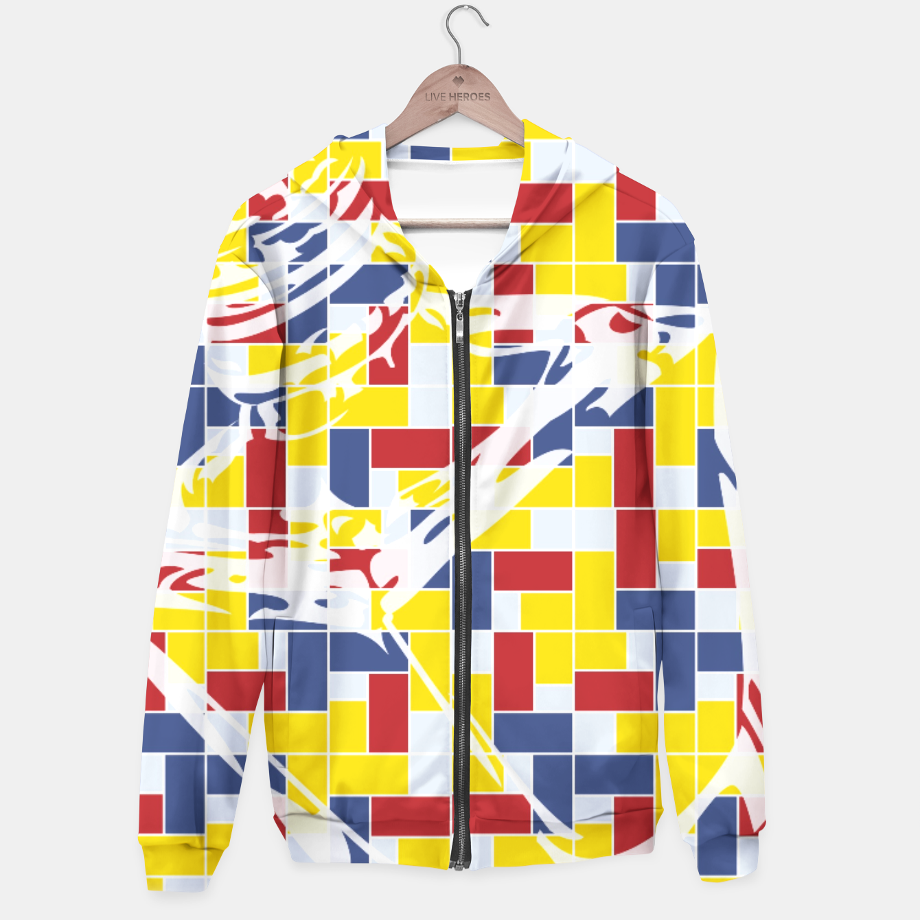 Image of Love Potion No9 (Pattern_01) Hoodie - Live Heroes