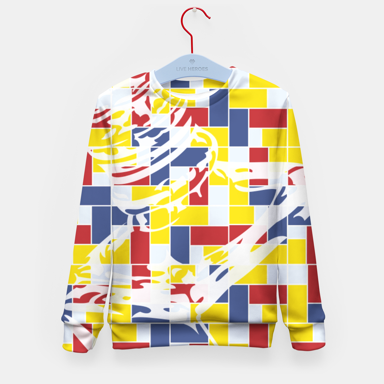 Image of Love Potion No9 (Pattern_01) Kid's Sweater - Live Heroes