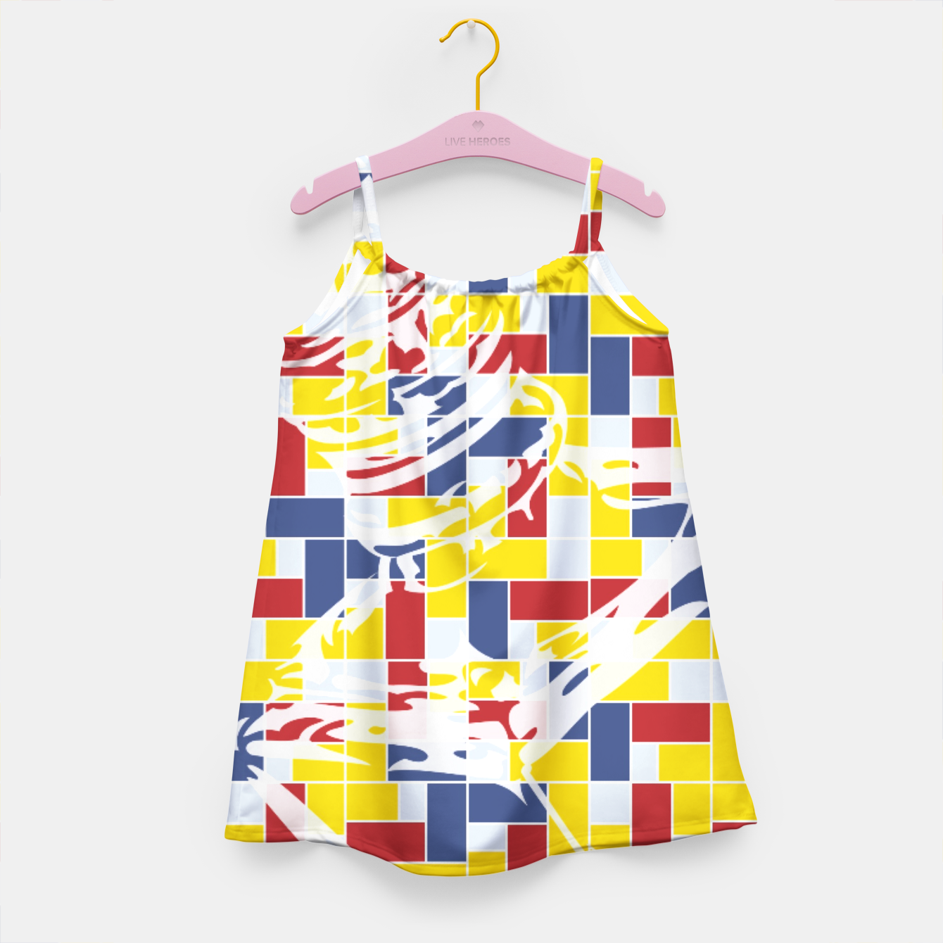 Image of Love Potion No9 (Pattern_01) Girl's Dress - Live Heroes