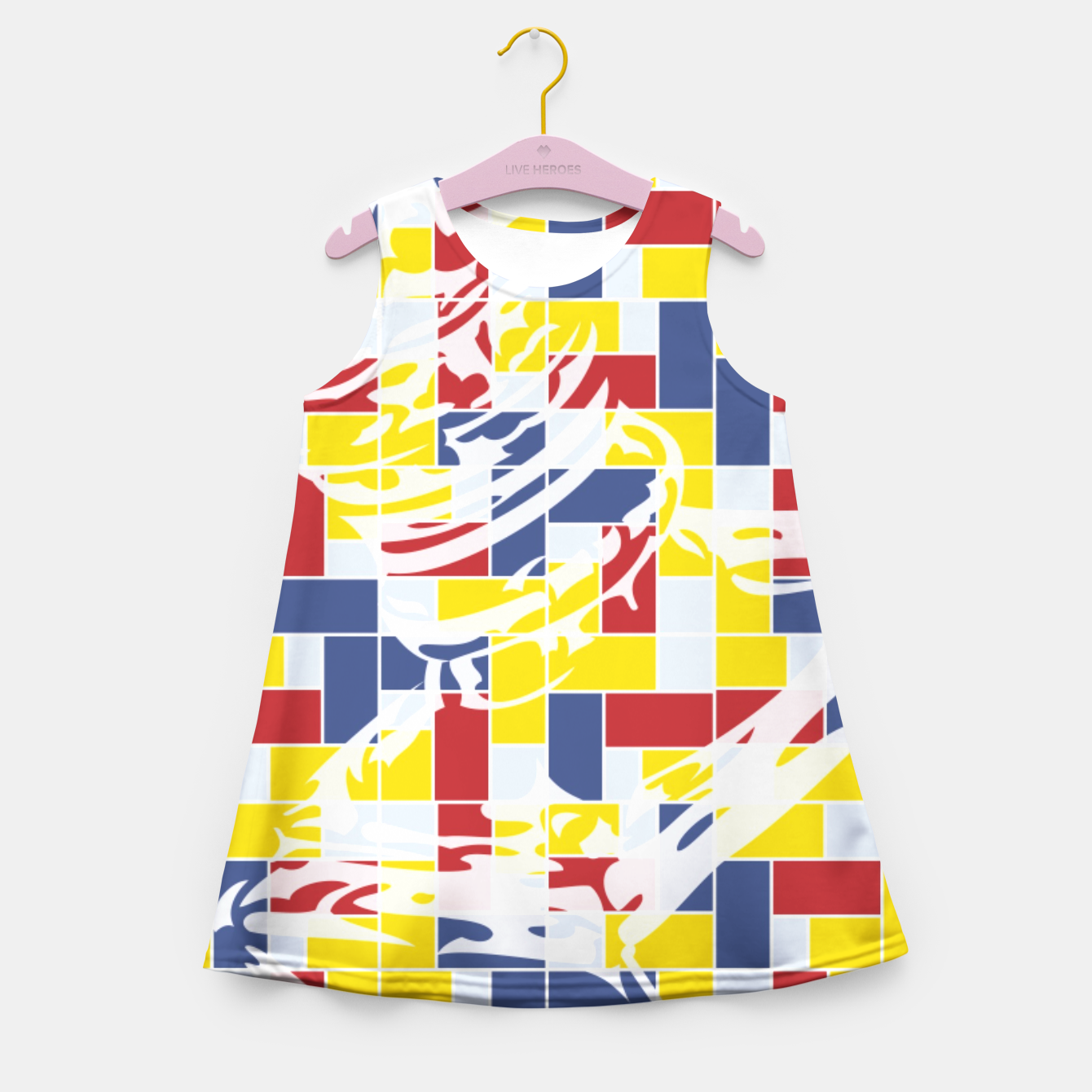 Image of Love Potion No9 (Pattern_01) Girl's Summer Dress - Live Heroes