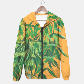 Thumbnail image of Ash-tree, floral art, green & yellow, summer greenery Hoodie, Live Heroes