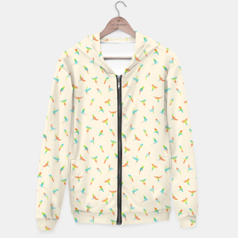 Thumbnail image of Parrots Papagei Hoodie, Live Heroes