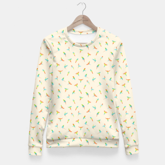 Thumbnail image of Parrots Papagei Fitted Waist Sweater, Live Heroes