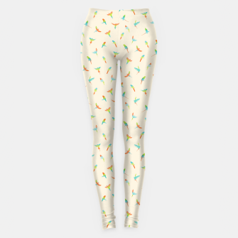Thumbnail image of Parrots Papagei Leggings, Live Heroes