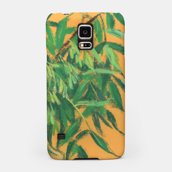 Thumbnail image of Ash-tree, floral art, green & yellow, summer greenery Samsung Case, Live Heroes