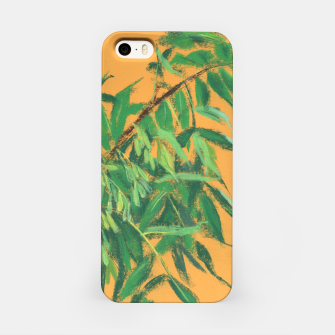Thumbnail image of Ash-tree, floral art, green & yellow, summer greenery iPhone Case, Live Heroes