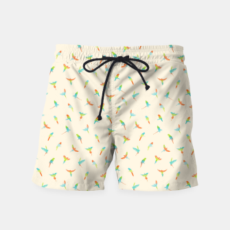 Thumbnail image of Parrots Papagei Swim Shorts, Live Heroes