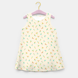 Thumbnail image of Parrots Papagei Girl's Summer Dress, Live Heroes
