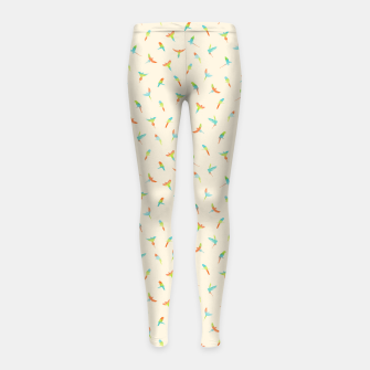 Thumbnail image of Parrots Papagei Girl's Leggings, Live Heroes