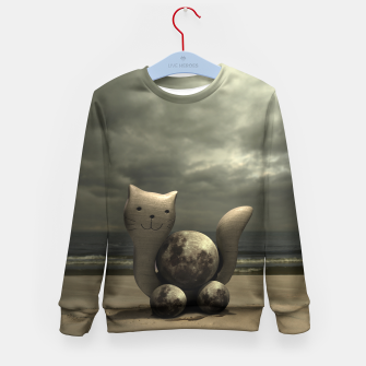 Thumbnail image of Kids blouse with earthcat, Live Heroes