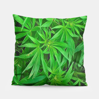 Thumbnail image of Ganjalicious  Pillow, Live Heroes