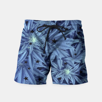 Thumbnail image of Blueberry Ganja  Swim Shorts, Live Heroes