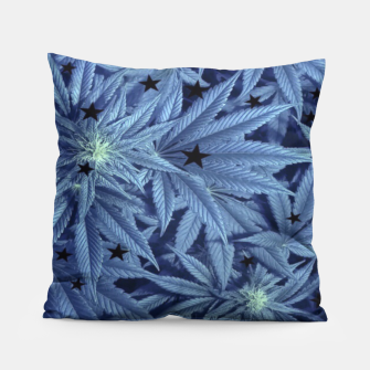 Thumbnail image of Blueberry Ganja  Pillow, Live Heroes