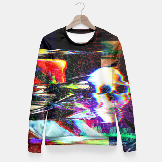 Thumbnail image of Mr. Glitch Fitted Waist Sweater, Live Heroes